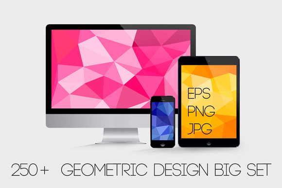 250 Geometric Backgrounds