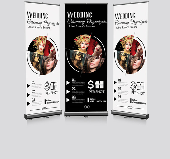 Fashion Photography Roll Up Banner