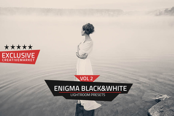 Enigma B W Lightroom Presets Vol 2