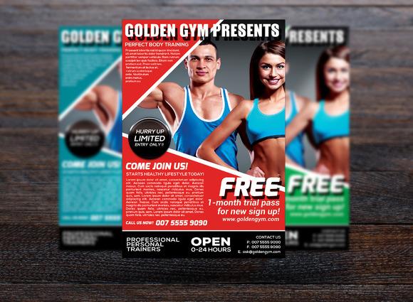 Fitness Sports Flyer