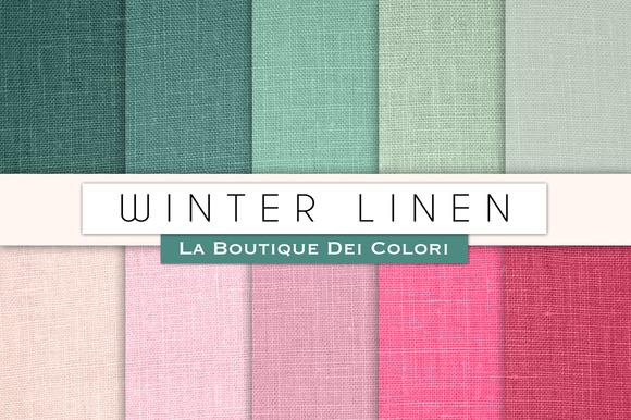 Winter Linen Textures