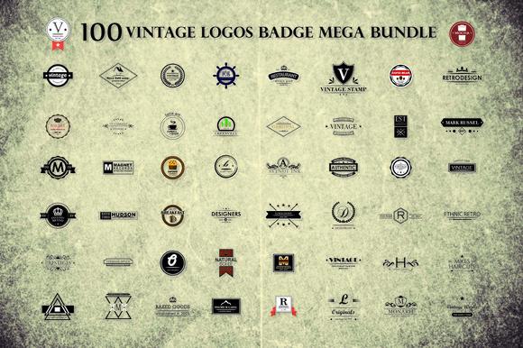 100 Logo Bundle