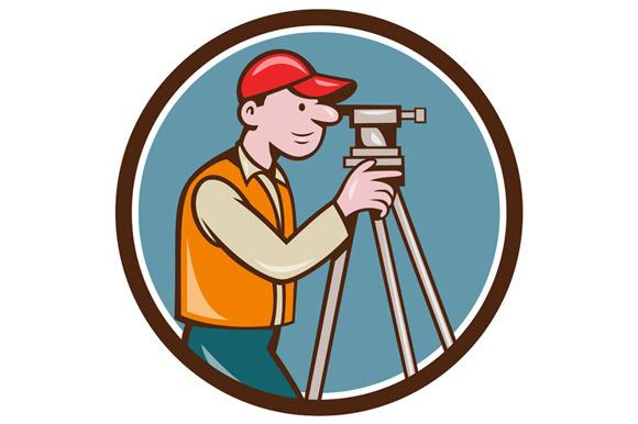 Surveyor Geodetic Engineer Theodolit