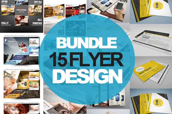 15 Multipurpose Flyer Design