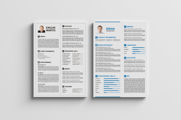 Best Two Resume CV Cover Letter