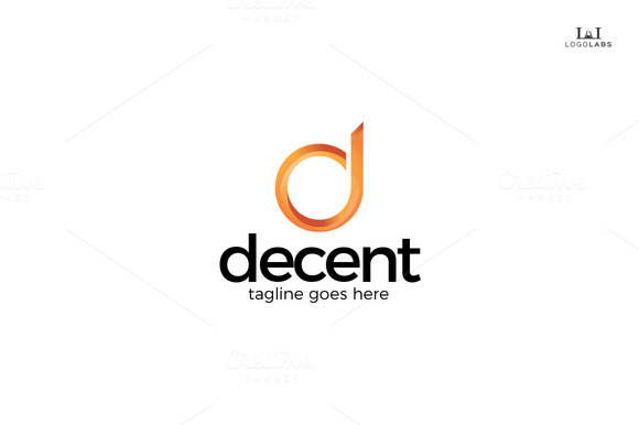 Decent Letter D Logo