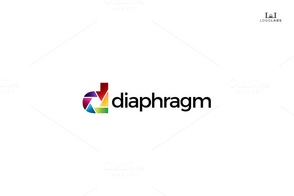 Diaphragm Photography Logo
