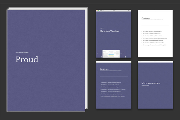 Textured IBooks Template