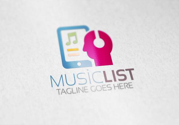 Music List Logo