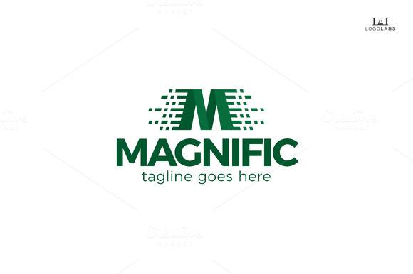 Magnific Letter M Logo