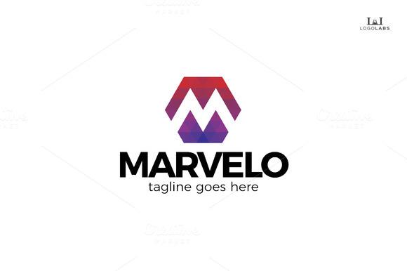 Marvelo Letter M Logo