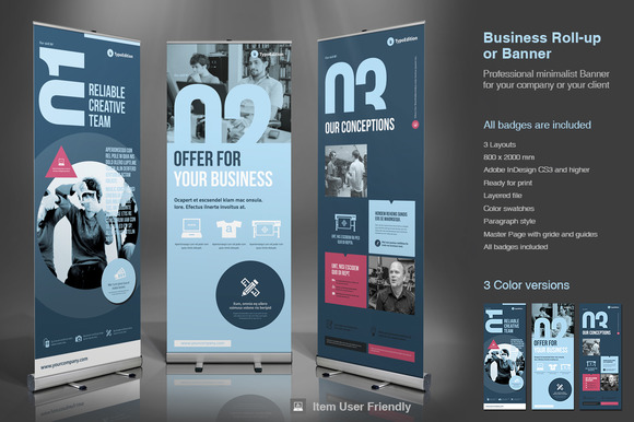 Business Roll-Up Banner 2