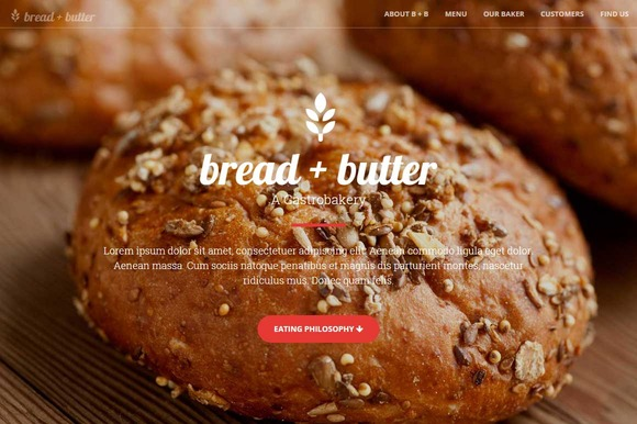 Bakery Cafe Bootstrap Theme