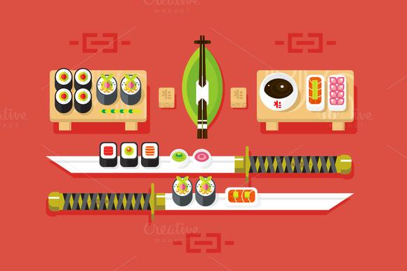 Japanese Cuisine Sushi