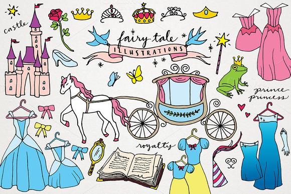 Fairy Tale Princess Clipart