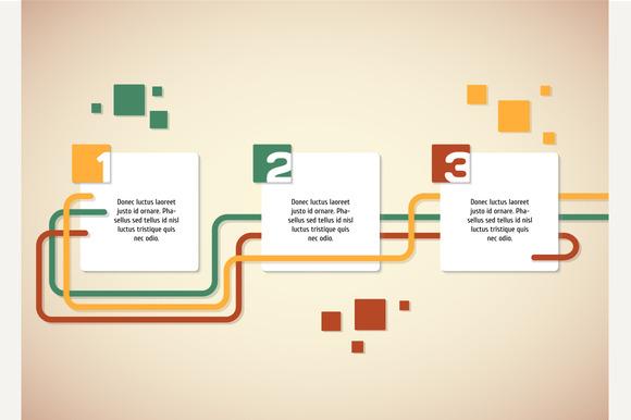 Vector Progress Infographic