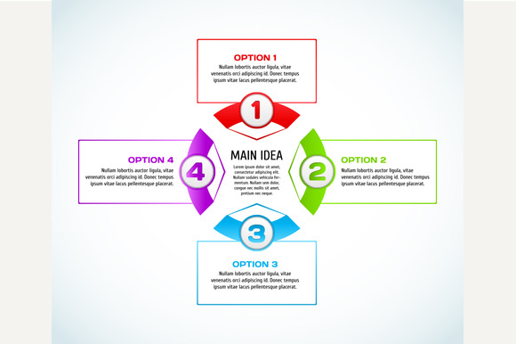 Concept Of Colorful Infographic