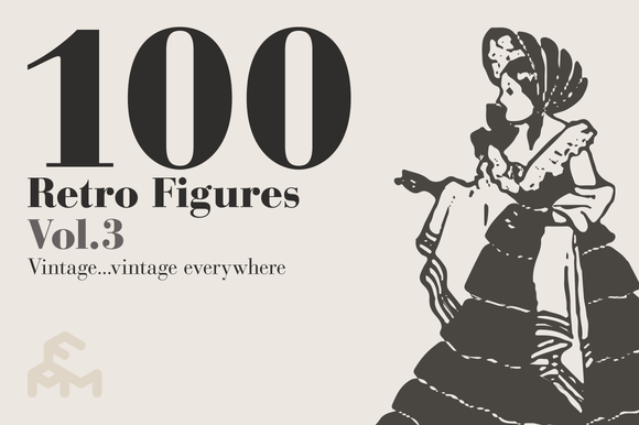 100 Retro Figures Vol.3