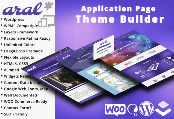Aral Application Page Theme Builder