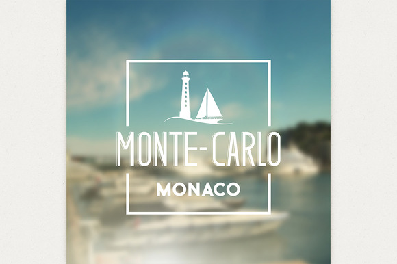 Monte-carlo Travel Print
