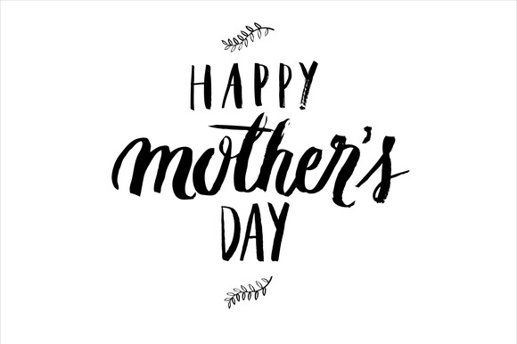 Mother S Day Brush Vector