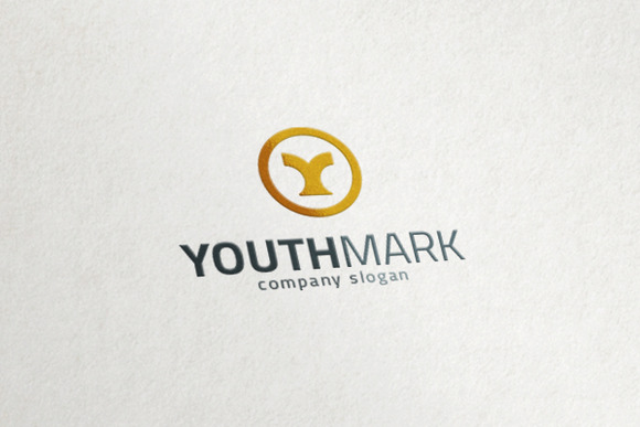 Y Logo Youth Yellow Brand