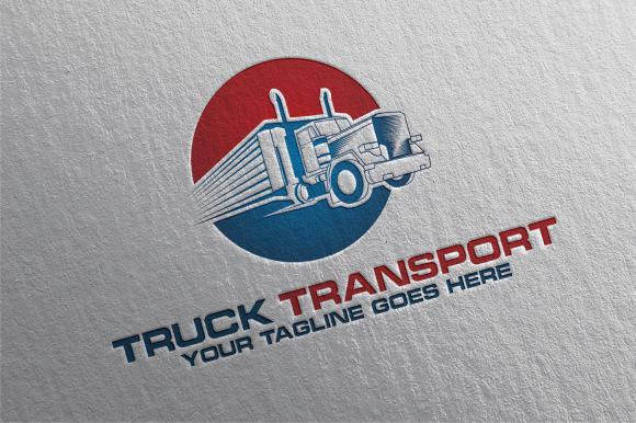 Truck Transport Logo Stationery
