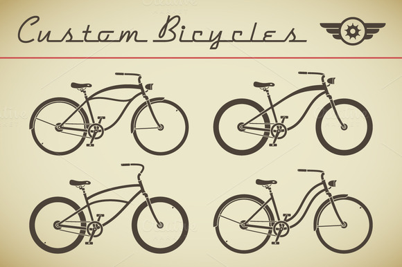 Custom Criuser Bicycle Set