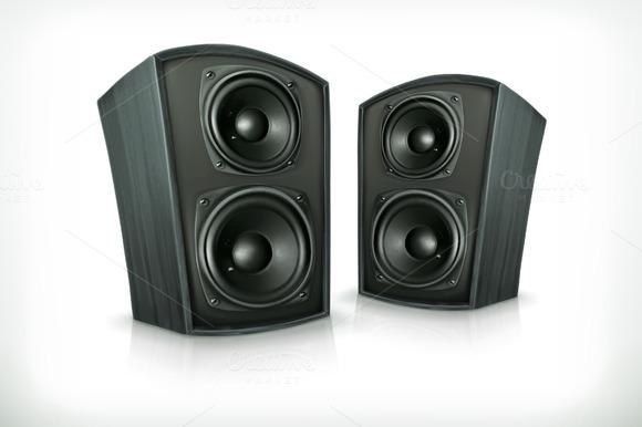 Audio Speakers Icons