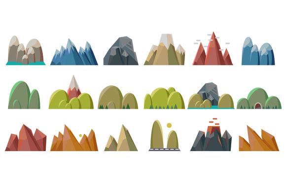 Mountains Elements Landscape