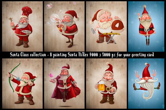 Santa Claus Collection 1