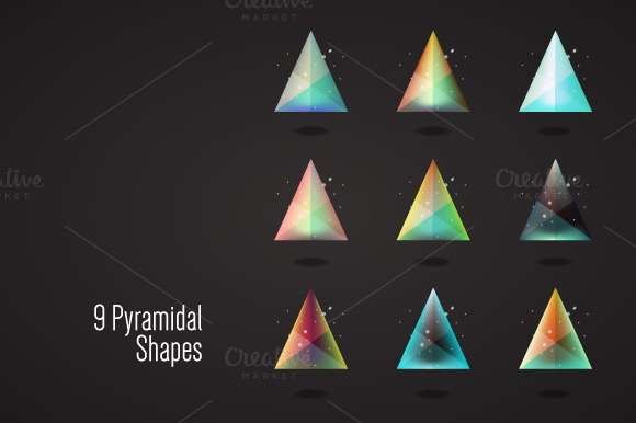 9 Crystal Triangles
