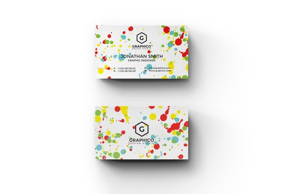 Splatters Art Business Card 36