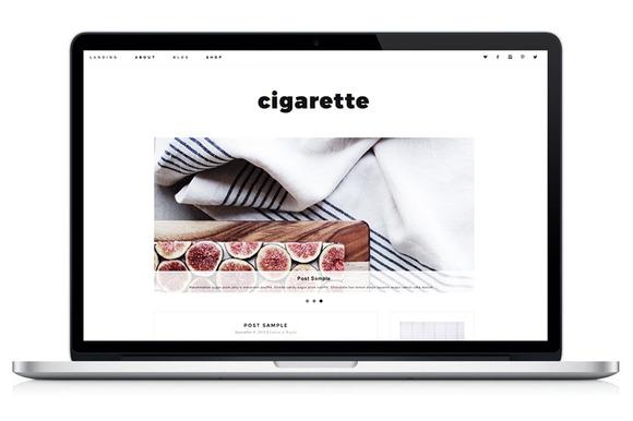 Responsive WP Theme Cigarette