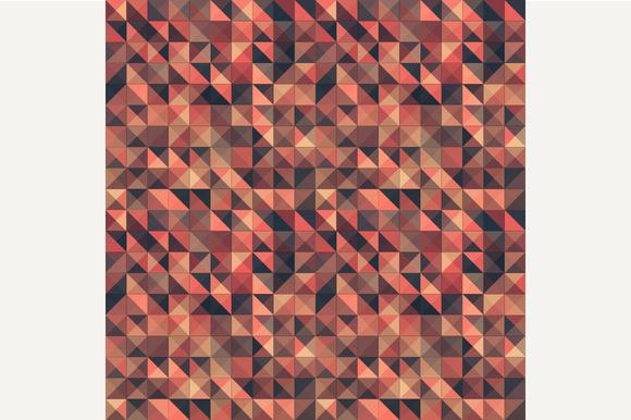 Retro Seamless Triangle Pattern