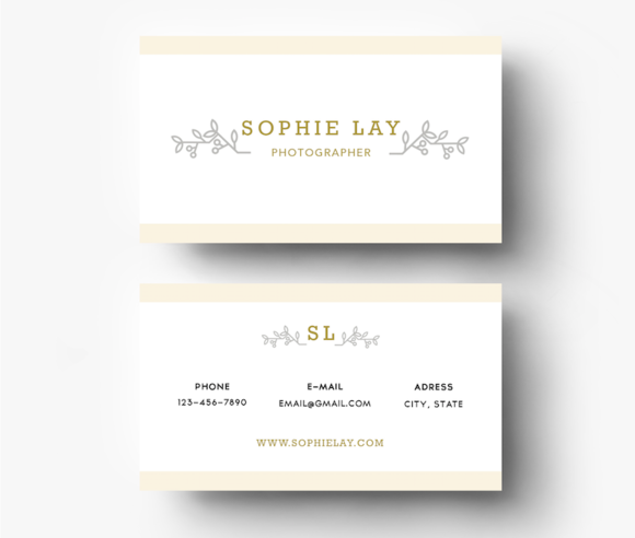 Berry Business Card Template