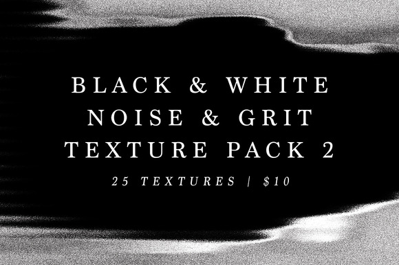 B W Noise And Grit Texture Pack 2