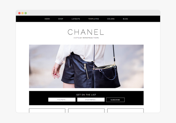 Chanel Wordpress Theme