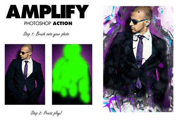 Amplify Photoshop Action