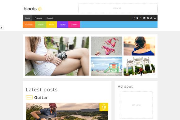 Blocks Blog Theme