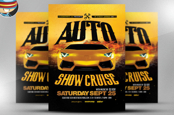 Good Car Show Flyer Template Images Gallery Vintage Car Show - Free car show flyer template
