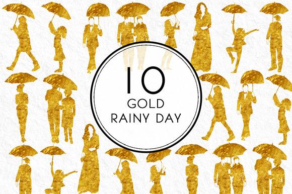Gold Rainy Day