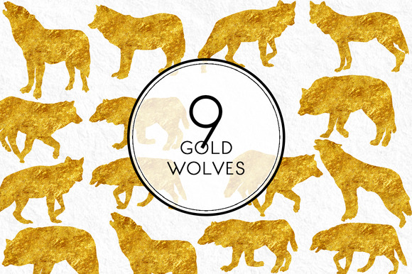 Gold Wolves