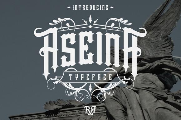 Aseina Typeface Bonus