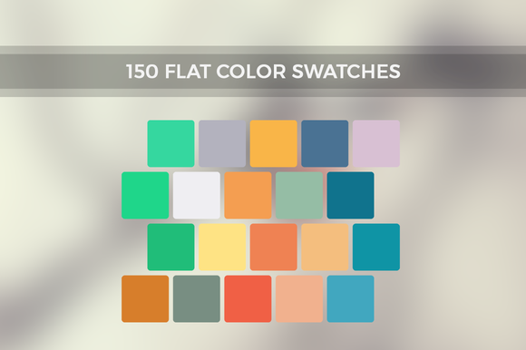 Inspire Me 150 Flat Color Swatches