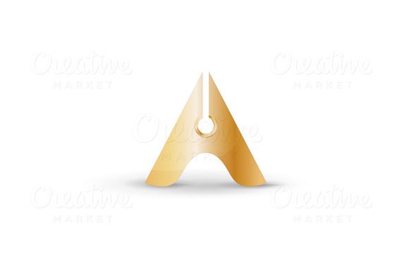 30% OFF Letter A Logo Template