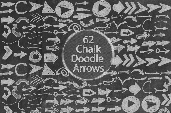 Chalk Doodle Arrows