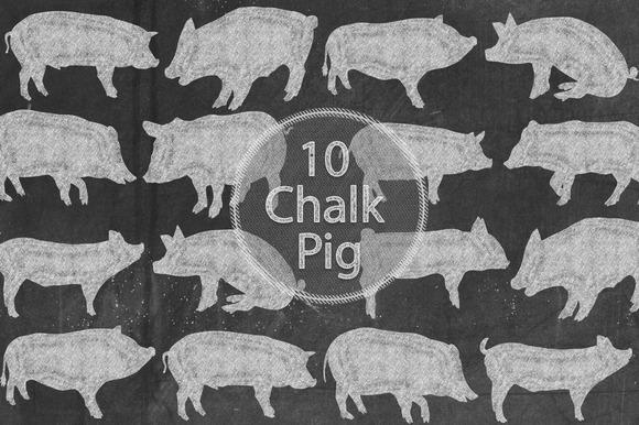 Chalk Pigs
