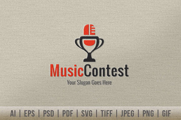 Music Contest Logo