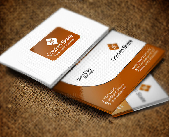 Golden State Business Card
